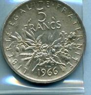1966 5 FRANCS - France