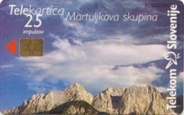 SLOVENIA SCHEDA TELEFONICA   Martuljkova Skupina / ŠKL - Schede Telefoniche