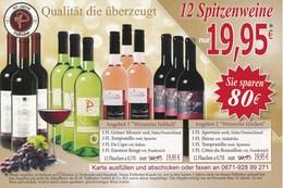 BRD Bad Kreuznach DP-Ganzsachenantwortpostkarte Weinhaus Pallhuber Spitzenweine - Wein & Alkohol