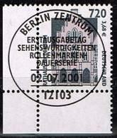 Bund 2001, Michel# 2197 O Eckrand Mit ESST Berlin - BRD