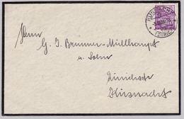 Brief Von Küsnacht (br5373) - Switzerland