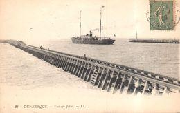 CPA - France - (59) Nord - Dunkerque - Vue Des Jetées - Dunkerque