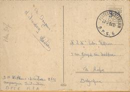 8Aa-907: POSTES-POSTERIJEN B.P.S 6. 23-3-64 > La Hulpe BE - Marcas De La Armada