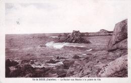 29 - Finistere - ILE De SIECK ( Santec )  -  Le Rocher Aux Moules A La Pointe De L Ile - France