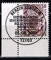 Bund 2001, Michel# 2210 - 2211 O Eckrand Mit ESST Berlin - BRD