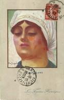 """1290 """" LA WALLONNE - LES FEMMES HEROIQUES"""" CART. POST. ILLUSTRATA OR. SPED. - Dupuis, Emile"""