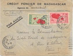 Lettre Madagascar Tananarive RP 1936 - Madagascar (1889-1960)