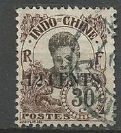 INDOCHINE N° 80 OBL TB - Indochine (1889-1945)