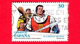 SPAGNA - Usato - 1995 - Capitan Trueno, Figura Comica Di Víctor Mora Pujadas E Miguel Ambrosio Saragozza - 30 - 1931-Oggi: 2. Rep. - ... Juan Carlos I
