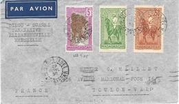 Lettre Madagascar Diego Suarez 1936 - Madagascar (1889-1960)