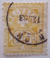 Suisse - YT 69 - Forte Cote - 1882-1906 Stemmi, Helvetia Verticalmente & UPU