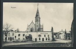 MUSSON. Carte Allemande.  Haupt Platz. Ruines De La Grande Guerre. Feld Post. Voyagée En 1917. Voir Dos. - Musson
