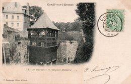 CONDÉ SUR ESCAUT-Ecluse Tournante Et Hopital Militaire - Conde Sur Escaut