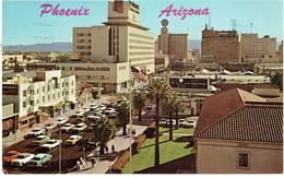 CPM ETATS-UNIS ARIZONA PHOENIX - Vue Sur Central Avenue - 1968 - Phoenix
