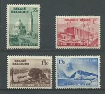 BELGIQUE: *, N°YT 484 à 487, Série, 1 ère Ch., TB - Neufs
