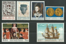 BELGIQUE: **, N°YT 1669 à 1674, Série, TB - Belgique