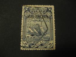 8 Avos MACAU Vasco De Gama 1898 Yvert 74 (Cat. Year 2008: 17 Eur) Stamp Macao Portugal China Area - Macao