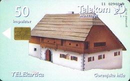 SLOVENIA SCHEDA TELEFONICA  Gorenjska Hiša / Gank - Schede Telefoniche