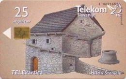 SLOVENIA SCHEDA TELEFONICA  Hiša V Štanjelu / Spahnjenca - Schede Telefoniche