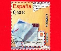 SPAGNA - Usato - 2008 - Europa -  Lettere E Vaso Di Fiori - 0.60 - 1931-Oggi: 2. Rep. - ... Juan Carlos I