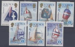 Salomon : Timbres De La Série 554 à 603 X Neuf Avec Trace De Charnière (7 Timbres) Année 1986 - Salomon (Iles 1978-...)