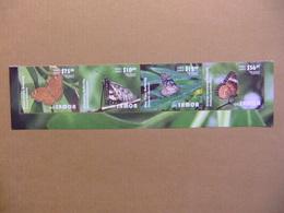 SAMOA 2015 Butterflies Papillons Mariposas Yvert ** Courrier EMS Airmail Expres - Papillons