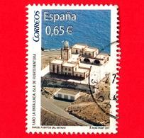 SPAGNA - Usato - 2011 - Il Faro Di Entallada (Fuerteventura) - Lighthouse - 0.65 - 2011-... Usati