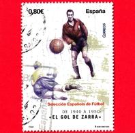 SPAGNA - Usato - 2011 - Squadra Nazionale Di Calcio Spagnola - Telmo Zarraonandia Montoya, Conosciuto Come Zarra - 0.80 - 2011-... Usati