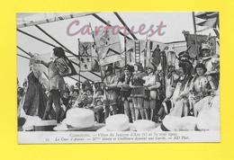 CPA 60 MILITARIA FEMME CELEBRE HISTOIRE : Compiègne Fêtes De Jeanne D'Arc En 1909 La Cour D'Amour - Pucelle D'Orléan - Beroemde Vrouwen