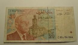 1996 - Maroc - Morocco - 1416 - 20 DIRHAMS, Hassan II, 80 561864 - Marokko