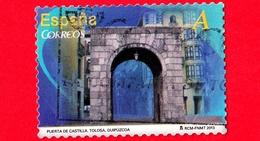 SPAGNA - Usato - 2013 - Archi - Monumenti - Puerta De Castilla - Tolosa - Guipúzcoa - A - 2011-... Usati