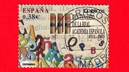 SPAGNA - Usato - 2014 - 300 Anni Della Accademia Reale Spagnola - Alfabeto E Tre Copie Del Dizionario Della Lingua Spagn - 2011-... Usati
