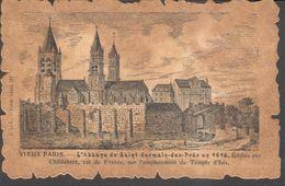 CPA - France - (75) Paris - L'Abbaye De Saint-Germain-des-Prés En 1410 - Francia