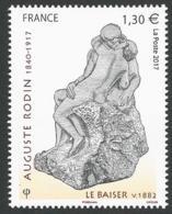 France 2017 - Augustre Rodin : Le Baiser - Ongebruikt