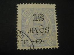 18 Avos O.p. 50 Reis MACAU 1902 Yvert 120 (Perf. 11 1/2 Cat. Year 2008: 17 Eur) Stamp Macao Portugal China Area - Macao