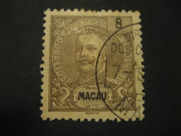 8 Avos MACAU 1903/5 Yvert 134 (Cat. Year 2008: 5 Eur) Stamp Macao Portugal China Area - Macau
