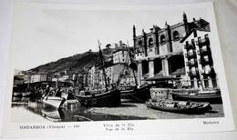 Antigua Postal - Vizcaya, Ondarroa - Vista De La Ría / Madyma, Nº130 - Vizcaya (Bilbao)