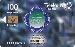 SLOVENIA SCHEDA TELEFONICA  EDI, Bled 99 - Schede Telefoniche