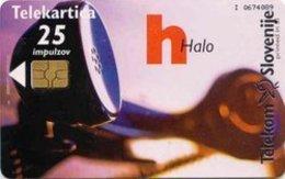 SLOVENIA SCHEDA TELEFONICA  Halo / Alpe - Jadran Fila '99 Ljubljana - Schede Telefoniche