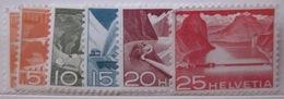Suisse - YT 482 à 486 ** - Suisse