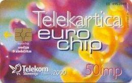 SLOVENIA SCHEDA TELEFONICA  Eurochip / Telekartice Imajo Eurochip - Schede Telefoniche