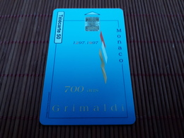 Phonecard Monaco Used Rare - Monaco
