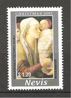 NEVIS - 2002 GIOVANNI BELLINI Presentazione Al Tempio (Fondazione Querini Stampalia, Venezia) Nuovo** MNH - Madonne