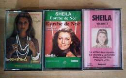 Lot De 3 Cassettes Audios De Sheila - Cassettes Audio