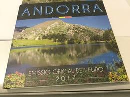 Série Officielle Andorre 2017  En Coffret BU - Andorra