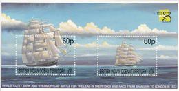 1999 British Indian Ocean Territory Tea Race Sailing Ships Cutty Sark  Souvenir Sheet  MNH - British Indian Ocean Territory (BIOT)