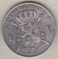 BELGIQUE .1 FRANC 1830 1880. 50ème ANNIVERSAIRE DE L'INDEPENDANCE. ARGENT - 1865-1909: Leopold II