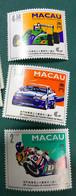MACAU 1993 - 40TH ANNIVERSARY OF THE MACAO GRAND PRIX - SET OF 3 UM VF - Macao