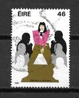 1987 Ireland Women 46p. Used/gebruikt/oblitere - 1949-... Republiek Ierland