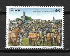 1987 Ireland Horse Fair 46p. Used/gebruikt/oblitere - 1949-... Republiek Ierland